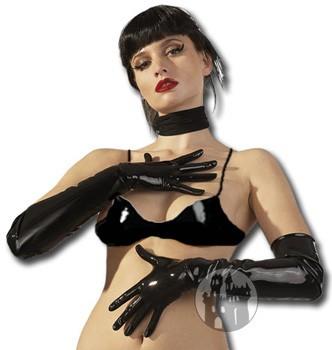 Latex Handschuhe - oberarmlang