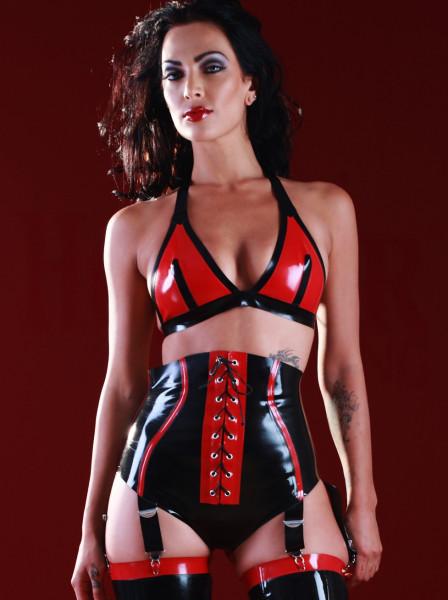 Latex Slip Suspender 2
