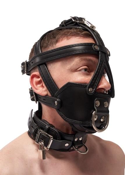 Leder Harness 'Extreme Muzzle'