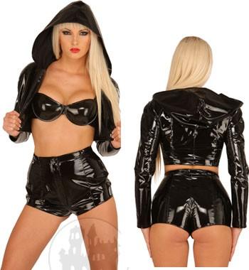 Latex Matrosen Outfit f