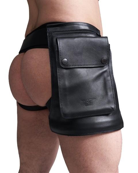 Leder Hüft-Holster Tasche