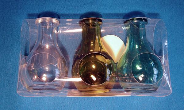 Elixierflaschen-Set mit Korken grün