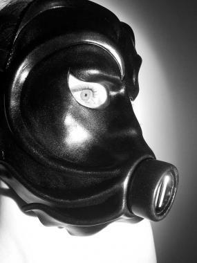Leder Maske 'Viragus'