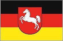 Flagge 'Niedersachsen'