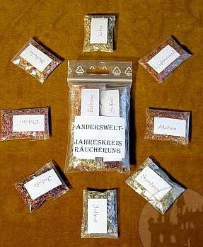 Pergament, magische Tinte, Federkiele, Siegelwachs, Siegel und ritueller Schreibbedarf im Esoterik Shop