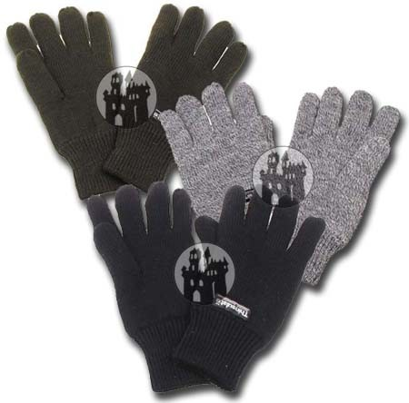 Fingerhandschuhe mit Thinsulatefütterung