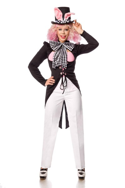 Hasen-Hutmacher Kostüm - vorne