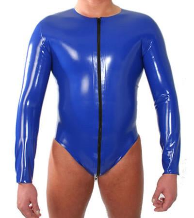 Latex Body - Standard long - langärmelig, RV vorne