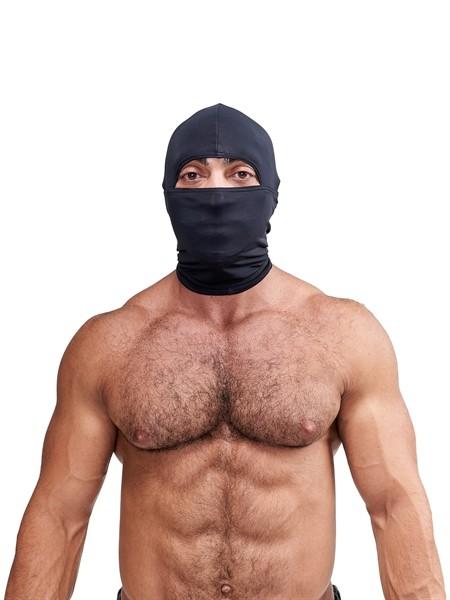 Elasthan Maske schwarz