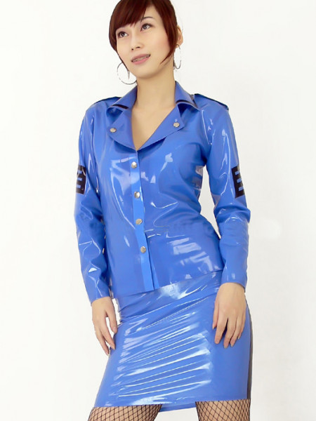 Latex Piloten Outfit