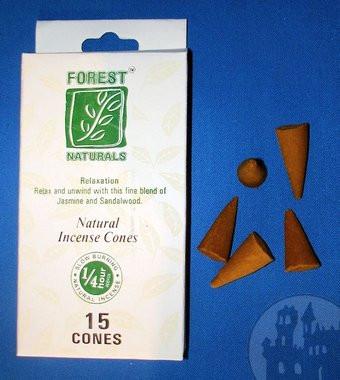 Forest Naturals Räucherkegel Entspannung