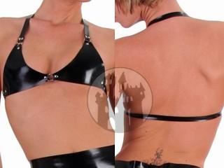 Latex BH - Bikini-Neckholder