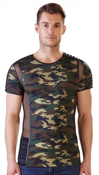 Herren Camouflage-Shirt