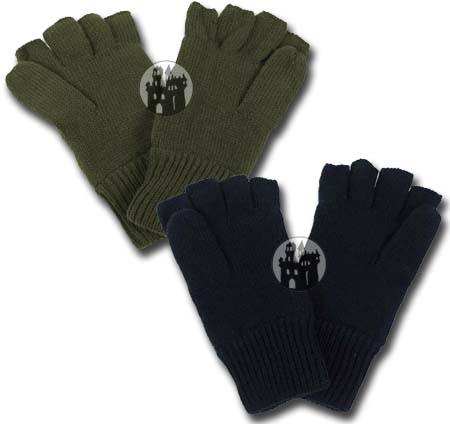 Strick-Handschuhe ohne Finger - mit Thinsulatefütterung