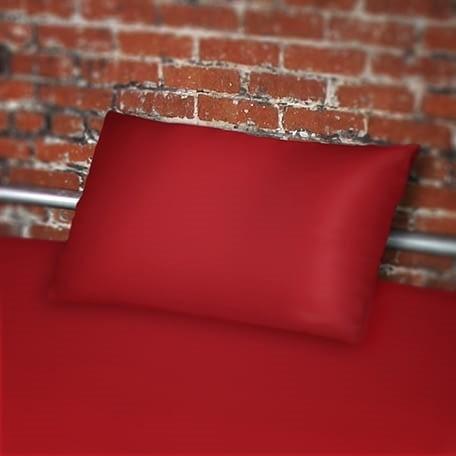 Kissenbezug aus Polyurethan rot