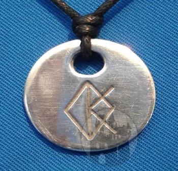 Binderunen Amulett 'Kreativität'