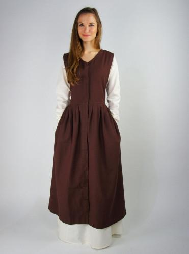 Kurzärmeliges Bauernkleid 8