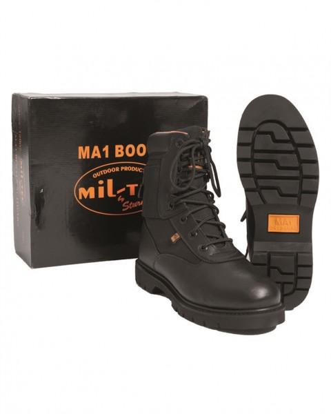 Boots 8-Loch mit Fach