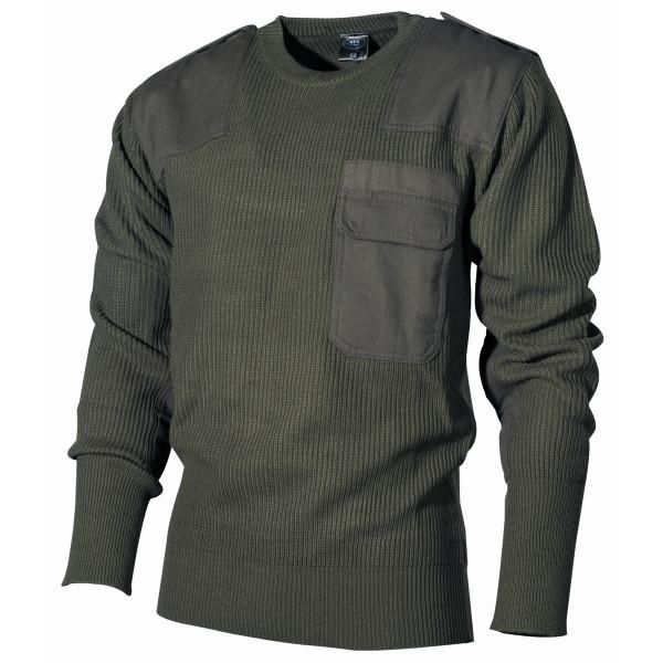 BW Pullover - mit Brusttasche - Acryl
