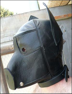 Kopfmaske im Schweinchenlook