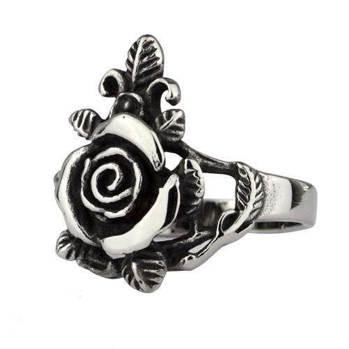 Ring 'Rose' Edelstahl