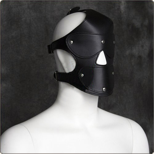 Kunstleder Kopfharness mit Ballknebel