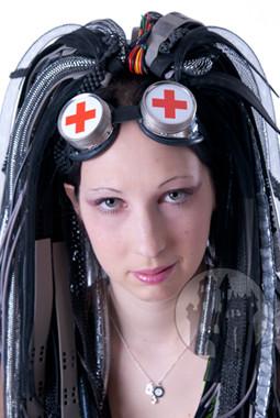 Cyberbrillen, Cybermasken, Schwei