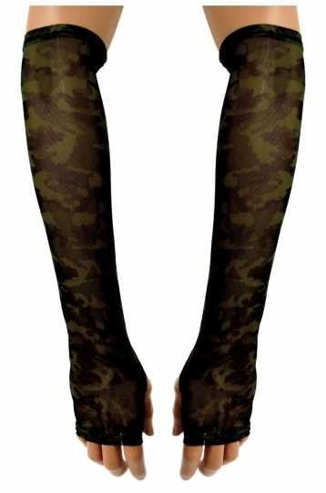 Armstulpen mit Camouflage