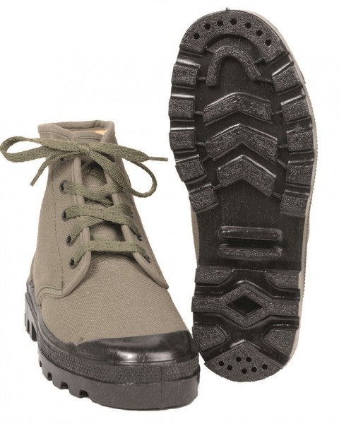 Franz. Commando Schuhe 5-Loch
