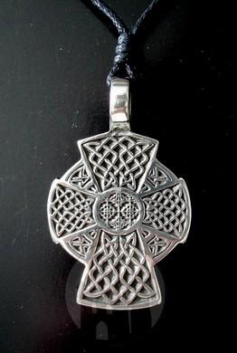 Anhänger keltisches Kreuz lang