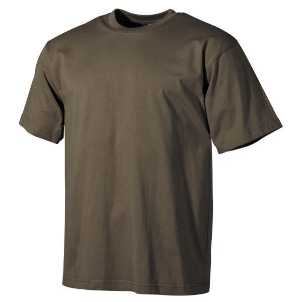 Stretch T-Shirt - Oliv