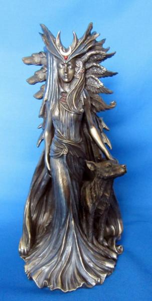 Kunstharz Figur Hexengöttin