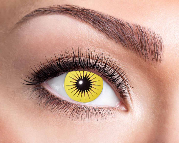 Kontaktlinsen 'Yellow Star'